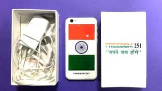Freedom 251: Get first impression of world's cheapest, yet amazing phone