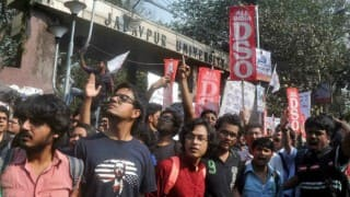 Riots break out in Jadavpur University over screening of 'Buddha in a traffic jam'; ABVP members rushed to hospital