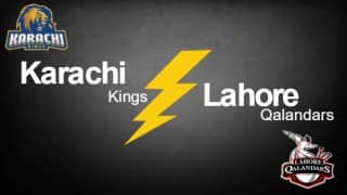 Kings won by 7 wkts | Live Cricket Score Updates Pakistan Super League (PSL) T20 2016 Karachi Kings vs Lahore Qalandars