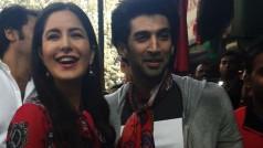 Katrina Kaif and Aditya Roy Kapur spotted shopping in Delhi's Janpath!