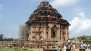 Archaeological Survey of India team inspects Konark Sun Temple