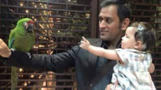 MS Dhoni & his daughter Ziva's picture is simply too cute to handle!
