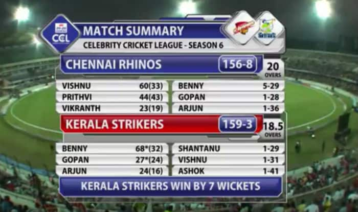 CCL T10 Blast Match I Kerala Strikers VS Karnataka ...