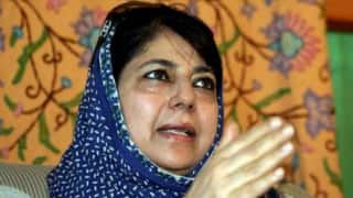 Jammu and Kashmir government deadlock: Mehbooba Mufti likely to call meeting of PDP leaders soon