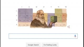 Google Doodle celebrates Father of Periodic Law Dmitri Mendeleev's 182nd Birth Anniversary