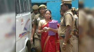 On parole, Nalini Sriharan attends father's funeral
