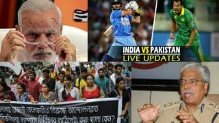 India.com Evening News Bulletin: Pakistan all out at 83, India wins match by 5 wickets; Bassi transfer JNU sedition case to special cell