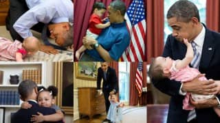 #ObamaAndKids: Americans tweet adorable viral pictures of Barack Obama with kids to celebrate Black History Month!