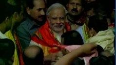 Narendra Modi offers prayers at Jagannath Temple in Odisha