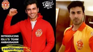 Fawad Khan gears up for Pakistan Super League T20 2016 opening match! See Picture