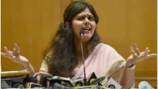 Maharashtra civic polls: Pankaja Munde offers resignation