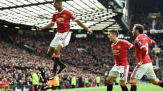 Marcus Rashford's brace leads Manchester United to 3-2 win against Arsenal in EPL 2015-16