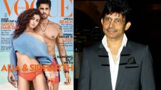 Sidharth Malhotra asks KRK to shut up in a classy way when the wannabe ridiculed Alia Bhatt