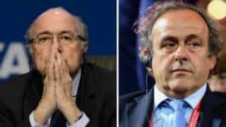 FIFA reduces Sepp Blatter, Michel Platini bans to six years