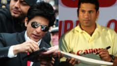 Shah Rukh Khan, Sachin Tendulkar are each others biggest FAN!
