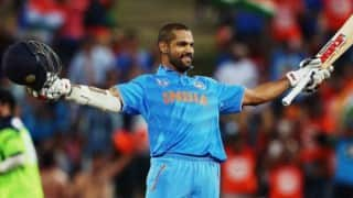Virender Sehwag wants Shikhar Dhawan to do 'Nagin Dance' on pitch