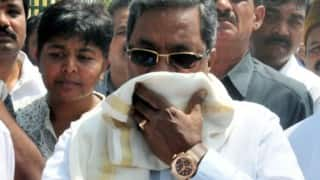 After Narendra Modi's luxury suit, Karnataka CM Siddaramaiah's Rs 70 lakh watch to be auctioned