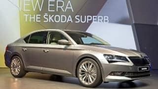 Skoda Superb set to be launched in India