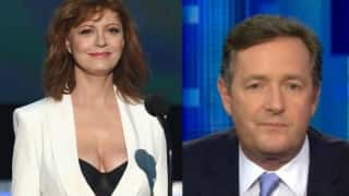 #Cleavagegate: After Susan Sarandon, other women are tweeting pictures of their cleavage to Piers Morgan!