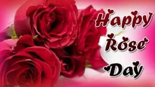 Happy Rose Day 2016: Best Rose Day SMS, Quotes, WhatsApp & Facebook Messages to send your Valentine Happy Rose Day greetings!