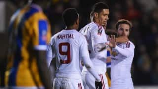 FA Cup: Manchester United beat Shrewsbury Town 3-0 to storm into quarter-finals