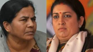 Smriti Irani should quit, says Rohith Vemula's mother; slams Minister for lying in Parliament about son's death