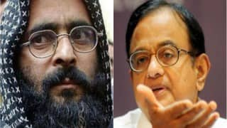 P Chidambaram doubts Afzal Guru role in 2001 Parliament attack