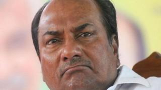 Urgent steps needed to find political solution in Jammu & Kashmir: A K Antony