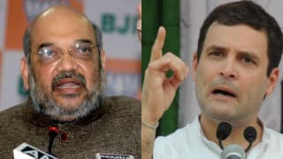 BJP Chief Amit Shah Slams Rahul Gandhi Over 'Dynasty' Remark, Asks Congress VP to Present Report Card of Last 3 Generations