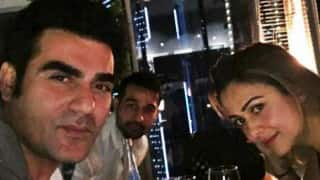 मलाइका अरोरा खान से अलग होने के बाद साली के साथ दुबई में पार्टी करते नज़र आएं अरबाज़ खान