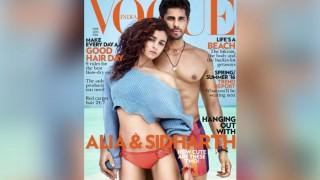 Lovebirds Sidharth Malhotra and Alia Bhatt look ravishing on Vogue magazine cover!