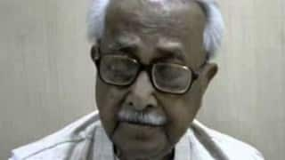 Ashok Ghosh's condition improves, but still critical