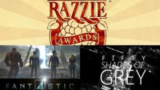 'Fifty Shades...', 'Fantastic Four' win Worst Picture award