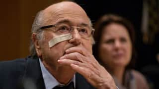 I was scared, even physically: Sepp Blatter