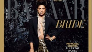 Priyanka Chopra looks STUNNING in bridal avatar on Harper's Bazaar cover!