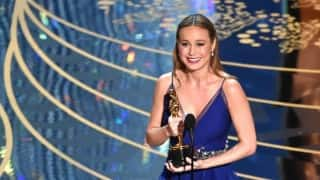 Oscar Awards 2016: 'Room' star Brie Larson wins Best Actress title