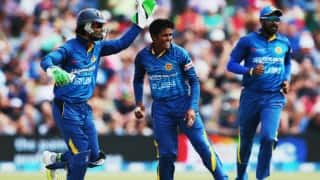 Sri Lanka 105/5   Live Cricket Score Updates, India vs Sri Lanka, 1st T20I in Pune in 18 Overs