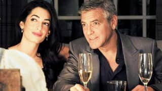 George Clooney, wife Amal meet Syrian refugees