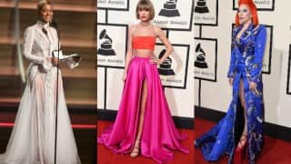Grammy Awards 2016: Taylor Swift, Beyoncé Knowles, Lady Gaga - 6 best dressed ladies at the 58th Grammy Awards