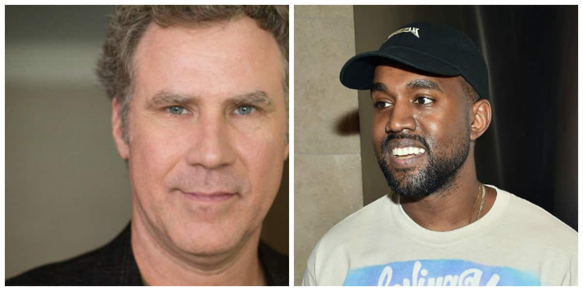 Kanye West gives thanks for ... Will Ferrell?!?