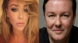 Lauren Pope has a crush on Ricky Gervais