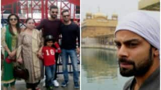 Virat Kohli visits Golden Temple, Wagah border