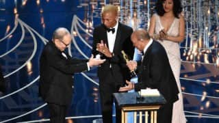 Oscar Awards 2016: Award for Best Original Score goes to Ennio Morricone for 'The Hateful Eight'