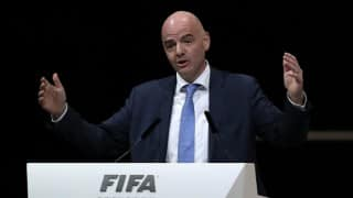 New president Gianni Infantino vows to make people proud of FIFA