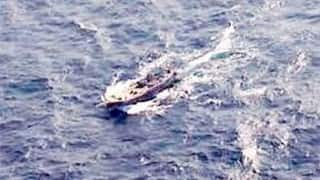 BSF finds abandoned Pakistani fishing boat with gun on board in Kutch