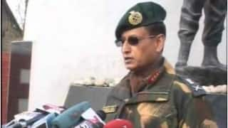 Better to eliminate than discourage infiltrators: Lt Gen Subrata Saha