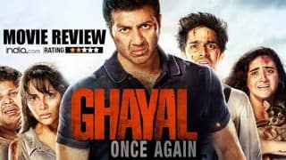 Ghayal Once Again Movie Review: Sunny Deol or his 'Dhai Kilo Ka Haath' fails to pack a punch!