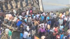 20 killed as bus plunges into river in Gujarat