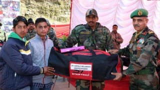 Indian army organises free tuition for Kashmiri students