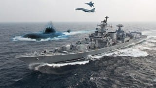 Even with 71 ships at International Fleet Review, India's force level is maintained